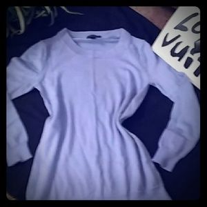 J crew Merino wool blue pullover crew size Xs